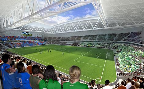 Fansen kan finansiera sveriges nya nationalarena