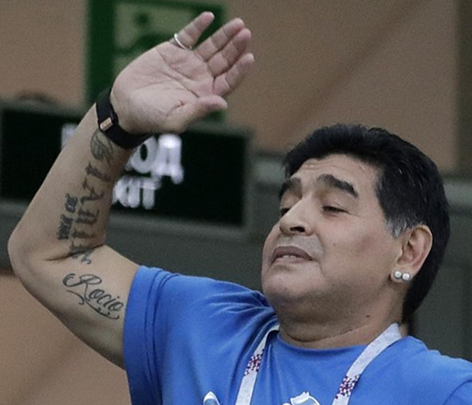 Maradona far komma till vm
