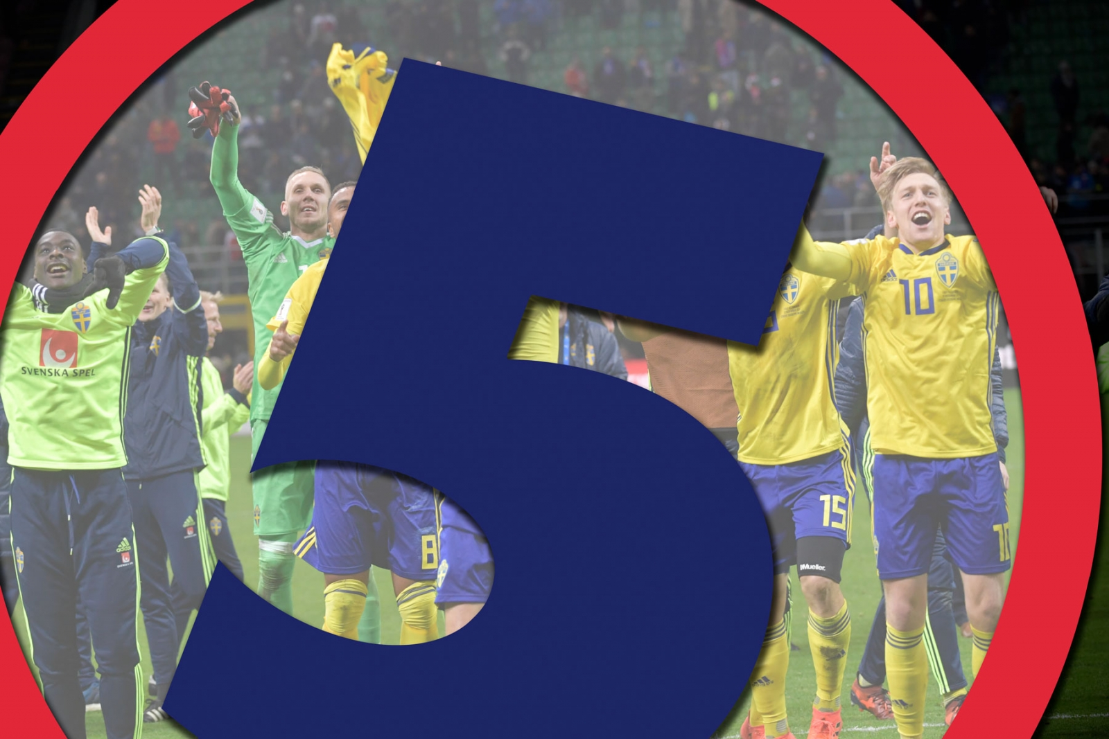Sverige jublar efter slutsignalen i måndagens VM-kval ... 9d4e37b562316