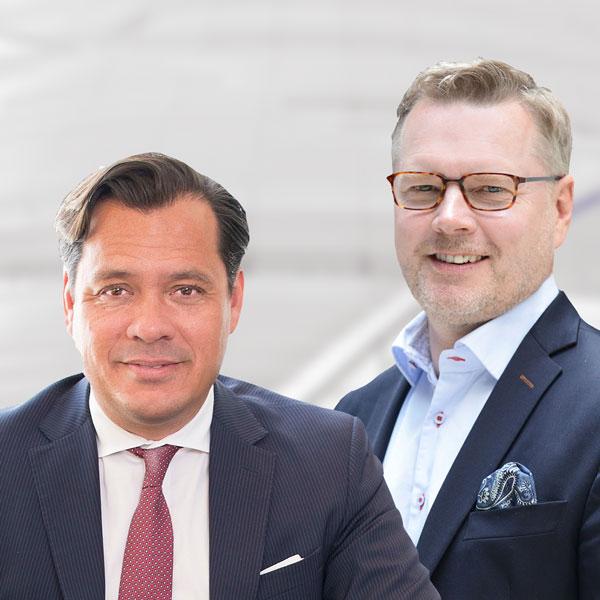 Carlos Esterling och Mikael Bergstens bild